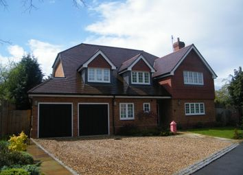 Thumbnail 6 bed detached house to rent in The Paddocks, Weybridge, Surrey
