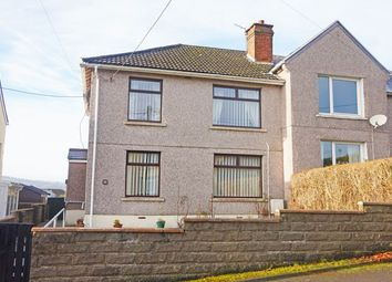 Thumbnail 3 bed semi-detached house for sale in Beech Drive, Hengoed