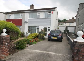 Thumbnail 3 bed semi-detached house to rent in Borringdon Close, Plympton