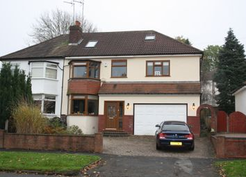 Thumbnail 4 bed semi-detached house to rent in Egginton Road, Hall Green, Birmingham