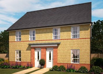 "Thumbnail 3 bedroom semi-detached house for sale in ""Finchley"" at Tregwilym Road, Rogerstone, Newport"