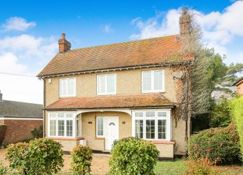 Thumbnail 4 bed detached house for sale in Station Road, Oakley, Bedford