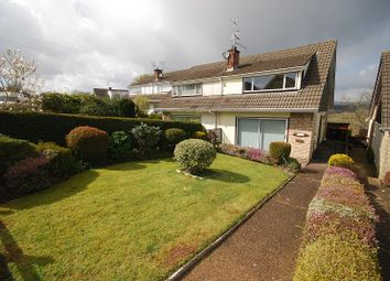 Thumbnail 3 bed semi-detached house for sale in Northfield Close, Caerleon, Newport, South Wales.
