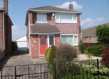 Thumbnail 3 bed detached house for sale in Enderby Crescent, Gainsborough, Lincolnshire