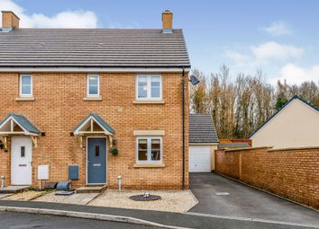 Thumbnail 3 bed semi-detached house for sale in Maes Y Cadno, Coity, Bridgend