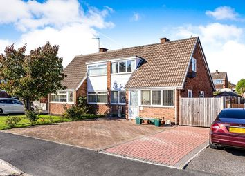 Thumbnail 2 bed semi-detached house for sale in Farm Side, Newhall, Swadlincote