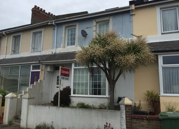 Thumbnail 3 bed terraced house for sale in Dunmere Road, Torquay