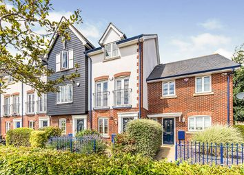 Thumbnail 3 bedroom terraced house for sale in Galleon Way, Upnor, Rochester, Kent