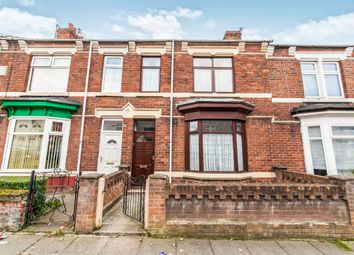 Thumbnail 3 bed terraced house for sale in Brougham Terrace, Hartlepool