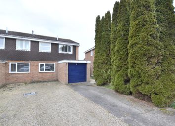 Thumbnail 3 bedroom semi-detached house for sale in Church Drive, Quedgeley, Gloucester