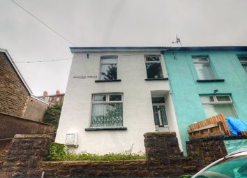 Thumbnail 4 bed end terrace house for sale in Woodfield Terrace, Penrhiwceiber, Mountain Ash