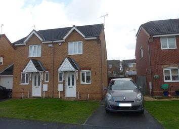 Thumbnail 2 bedroom semi-detached house for sale in Stanier Drive, Leicester