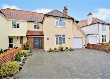 Thumbnail 4 bed semi-detached house for sale in Shorncliffe Crescent, Folkestone, Kent