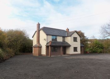 Thumbnail 4 bedroom detached house for sale in Four Roads, Kidwelly, Carmarthenshire.