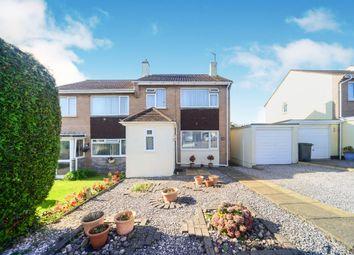 Thumbnail 3 bed semi-detached house for sale in Fairwater Close, Kingsteignton, Newton Abbot
