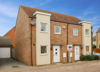 Thumbnail 3 bed semi-detached house for sale in Eaton Hall Crescent, Broughton Gate, Milton Keynes, Bucks