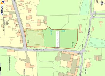 Thumbnail Land for sale in High Street, Witcham, Ely