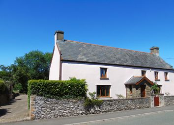 Thumbnail 4 bed farmhouse for sale in Old Bedwas Road, Porset, Caerphilly