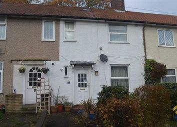 Thumbnail 3 bed terraced house for sale in Langham Gardens, Burnt Oak, Middlesex