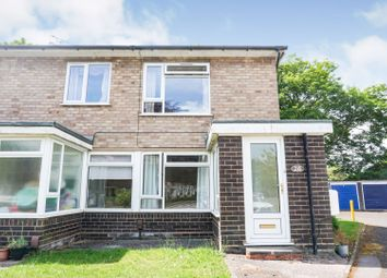 Thumbnail 2 bed flat for sale in Chequerfield Drive, Penn Fields, Wolverhampton