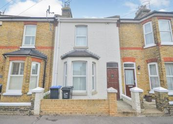 Thumbnail 3 bed terraced house for sale in Seafield Road, Ramsgate, Kent