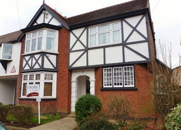 Thumbnail 1 bed flat for sale in Oundle Road, Peterborough