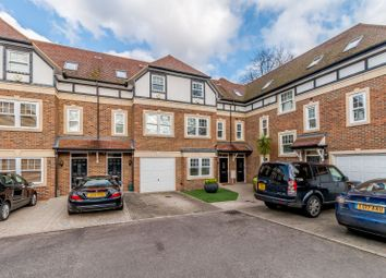Thumbnail 3 bed terraced house to rent in Sterling Place, Weybridge