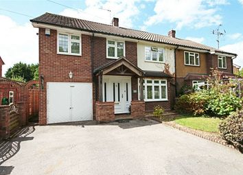 Thumbnail 4 bed semi-detached house for sale in Honeymeade, Sawbridgeworth, Hertfordshire