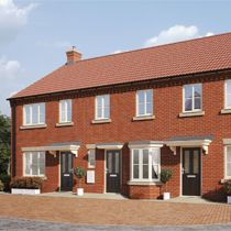 Thumbnail 2 bedroom terraced house for sale in Buzzard Way, Holt