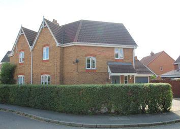 Thumbnail 3 bed semi-detached house for sale in St. Bartholomews, Monkston, Milton Keynes