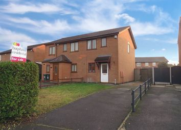 Thumbnail 2 bed semi-detached house for sale in Irvine Close, Stenson Fields, Derby