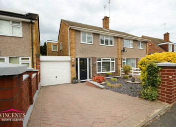 Thumbnail 4 bed semi-detached house for sale in Packer Avenue, Leicester Forest East, Leicester