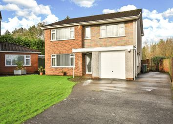 Thumbnail 4 bed detached house for sale in Melville Avenue, Old St. Mellons, Cardiff