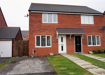 Thumbnail 2 bed semi-detached house for sale in Field Square, Sunderland
