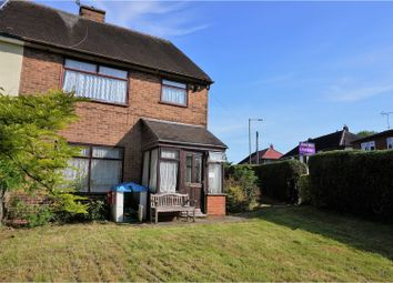 Thumbnail 3 bed semi-detached house for sale in Tideswell Road, Derby