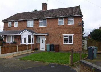 Thumbnail 3 bed semi-detached house to rent in Bader Road, Walsall