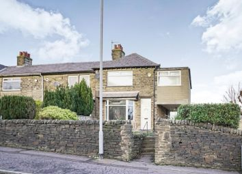 Thumbnail 3 bed end terrace house for sale in Moor End Road, Halifax