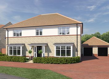 "Thumbnail 5 bed detached house for sale in ""The Chedworth"" at Moormead Road, Wroughton, Swindon"