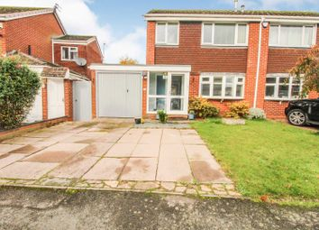 Thumbnail 3 bed semi-detached house for sale in Boscobel Road, Solihull