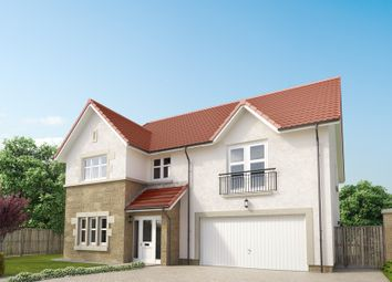 "Thumbnail 5 bed detached house for sale in ""The Lewis"" at Peel Road, Thorntonhall, Glasgow"