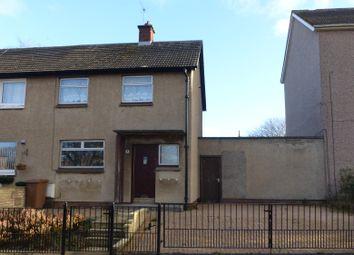 Thumbnail 2 bed semi-detached house to rent in Balfron Loan, Edinburgh