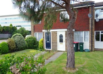 Thumbnail 2 bed terraced house to rent in Holmcroft, Crawley