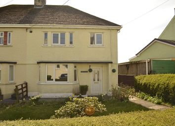 Thumbnail 3 bed semi-detached house for sale in Banc Y Dderwen, Broad Oak, Carmarthen, Carmarthenshire.