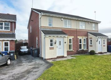 Thumbnail 4 bed semi-detached house to rent in Tamar Close, Whitefield, Manchester