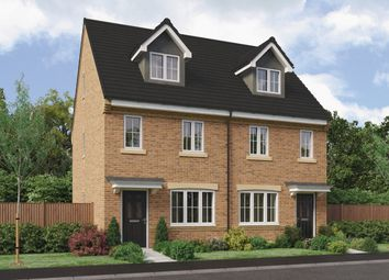 Thumbnail 3 bedroom semi-detached house for sale in Brandling Way, Hadston, Morpeth