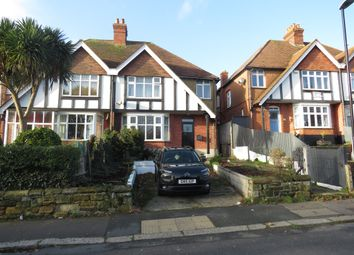 Thumbnail 4 bed semi-detached house for sale in Magdalen Road, St. Leonards-On-Sea