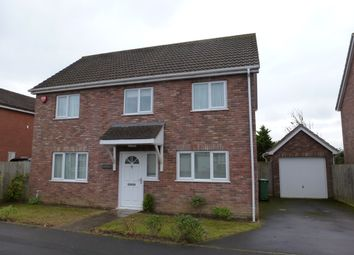 Thumbnail 4 bed detached house to rent in Coniston Gardens, Yeovil