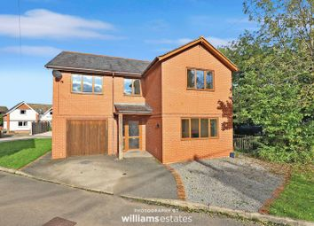 Thumbnail 4 bed detached house for sale in Lon Yr Ysgol, Gellifor, Ruthin
