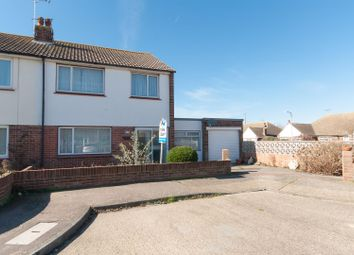 Thumbnail 3 bed semi-detached house for sale in Leybourne Drive, Margate