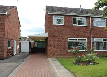 Thumbnail 3 bed semi-detached house to rent in Northfield Close, Uttoxeter